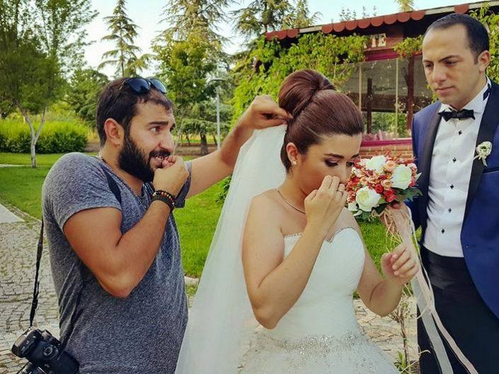 Dış Çekim Düğün Fotoğrafçısı Ankara