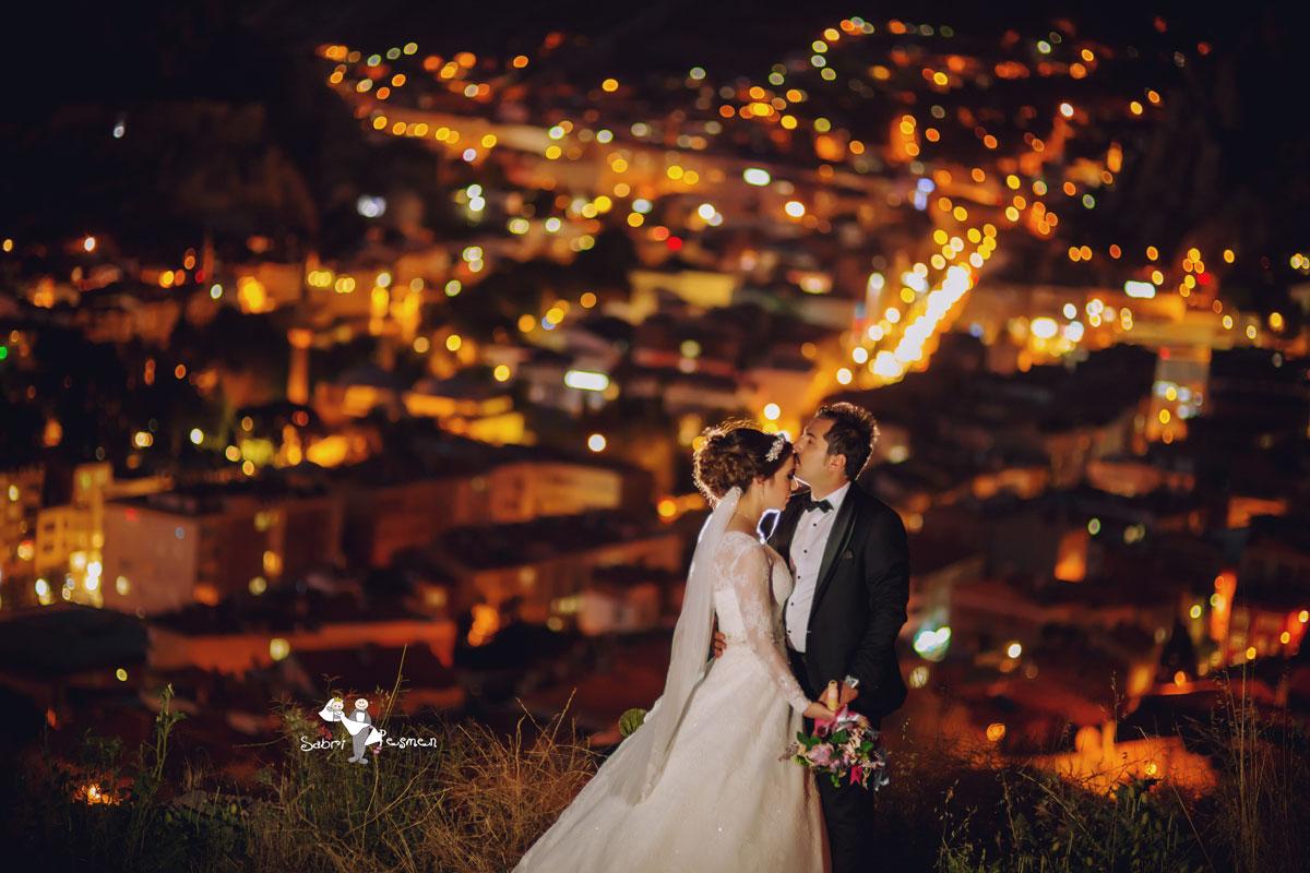 Amasya-Gece-Manzarası-Ali-Kaya-Düğün-Fotoğrafları-Pozları-Düğün-Fotoğrafçısı-Sabri-Peşmen