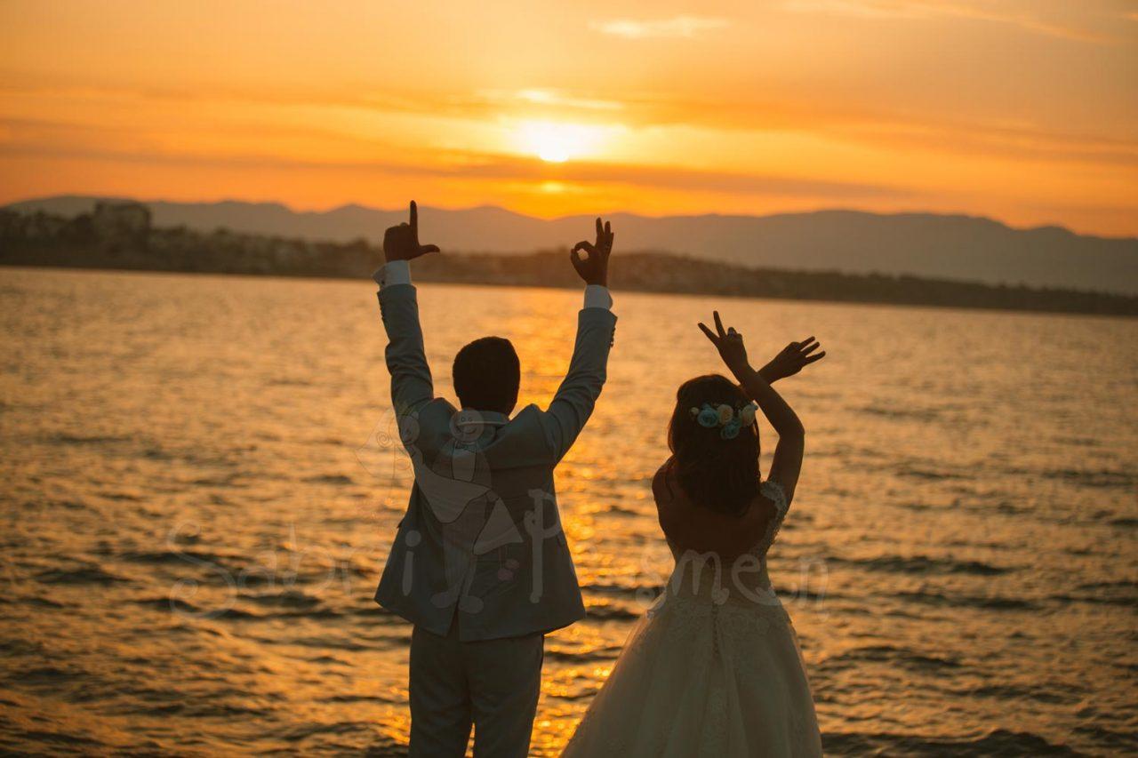 İzmir-Alaçatı-Dış-Çekim-Gün-Batımı-Düğün-Fotoğrafları
