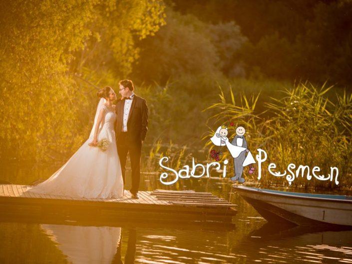 Eymir Gölü ve Gölbaşı Mogan Gölün de Çekilmiş En Güzel Düğün Fotoğrafları