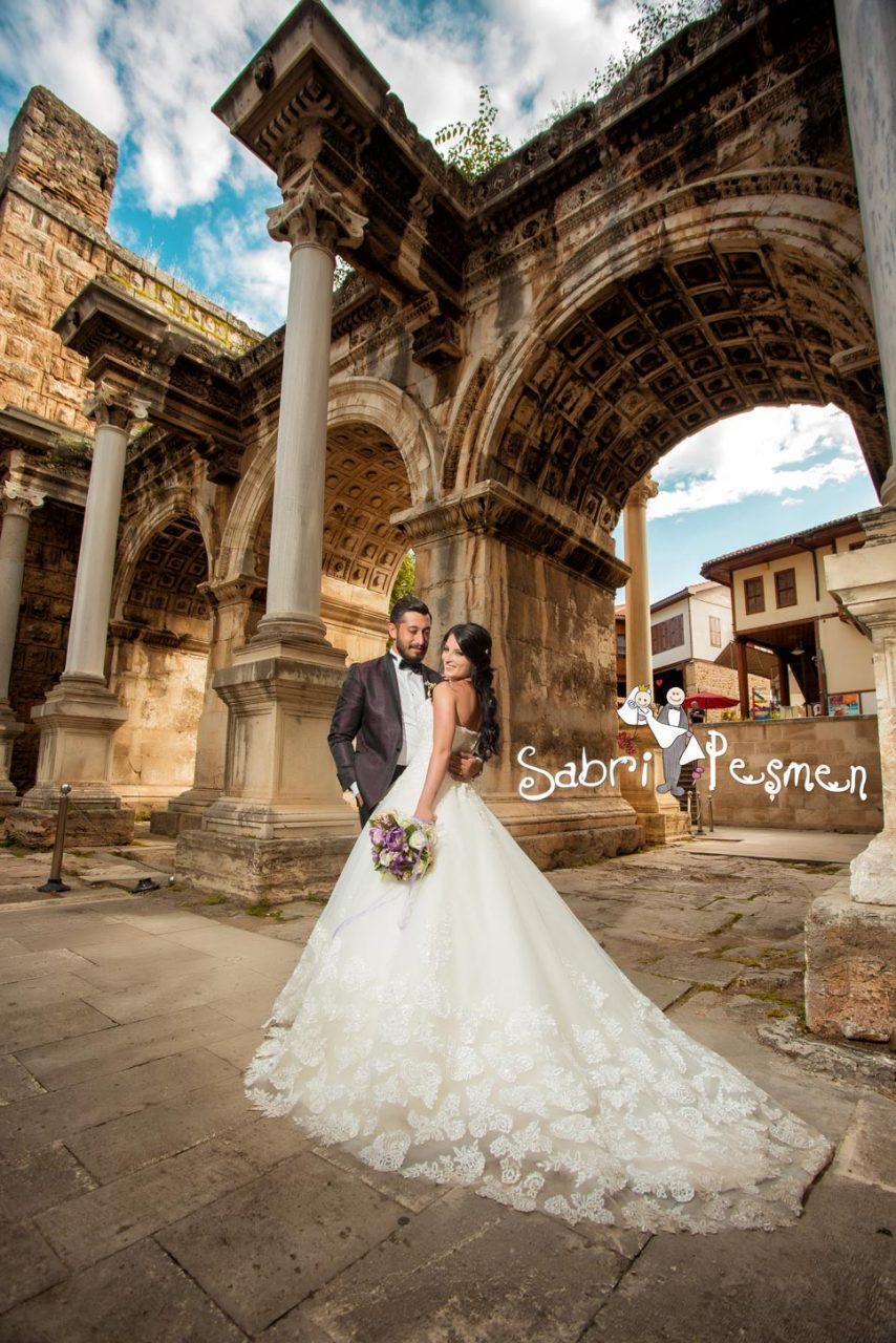 Antalya-Alanya-Manavgat-Side-Kaş-Kaleiçi-Üç-Kapılar-Dış-Çekim-Düğün-Fotoğrafları-2017-Sabri-Peşmen