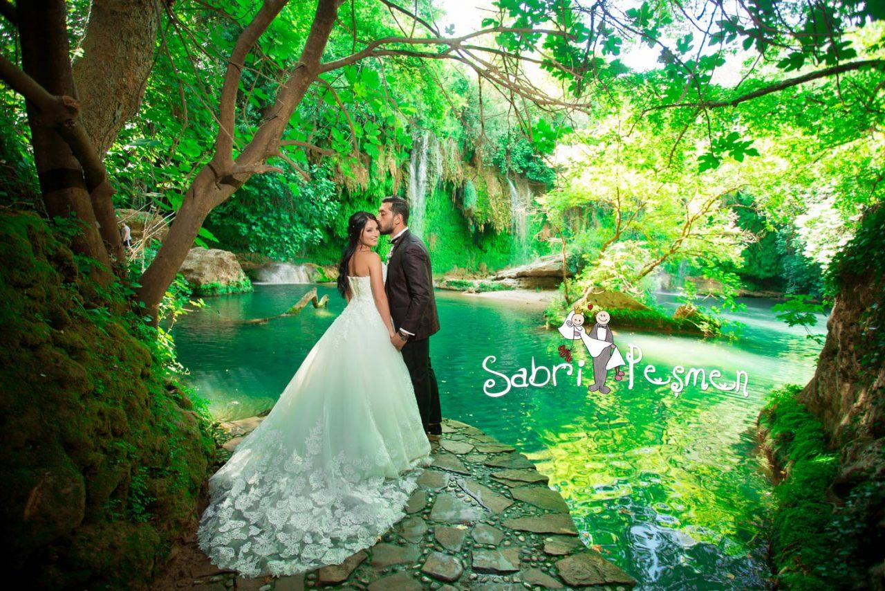 Antalya-Alanya-Manavgat-Side-Kaş-Kaleiçi-Kurşunlu-Şelalesinden-Çekilmiş-En-Güzel-Dış-Çekim-Düğün-Fotoğrafları