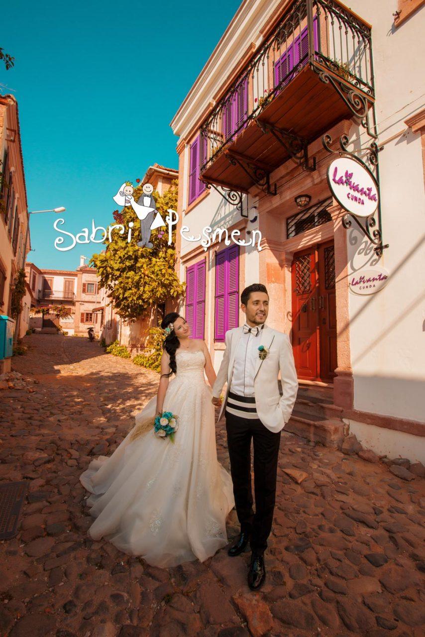 Balıkesir-Edremit-Cunda-Adası-Dış-Çekim-Mekanları-Düğün-Fotoğrafları-2017-Sabri-Peşmen