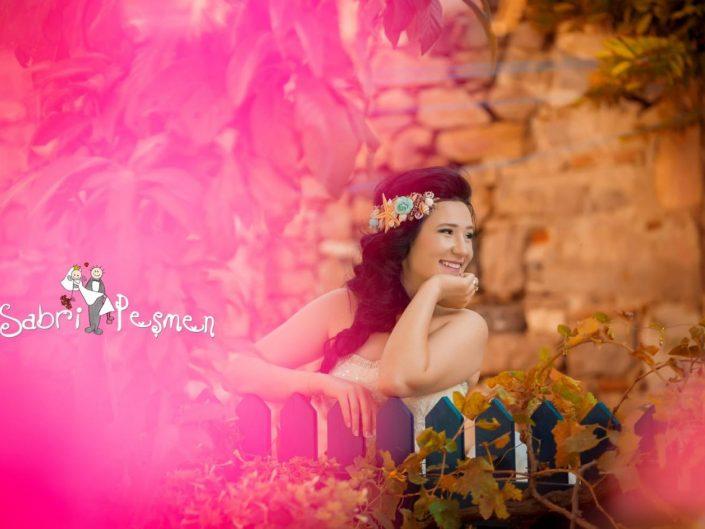 Cunda Adasın'da Çekilmiş En Güzel Dış Çekim Düğün Fotoğrafları
