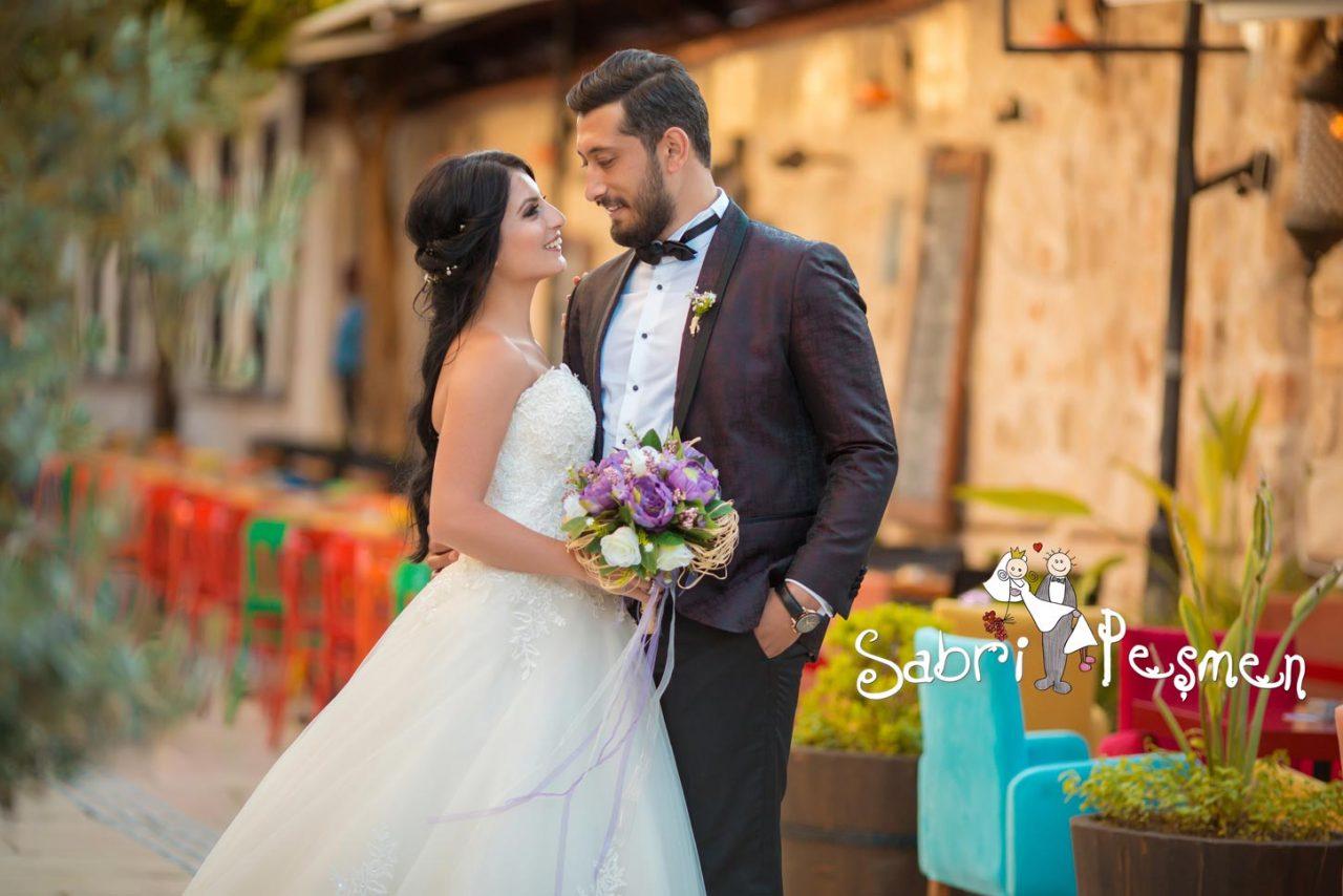 Kaleiçi-Dış-Çekim-Düğün-Fotoğrafları